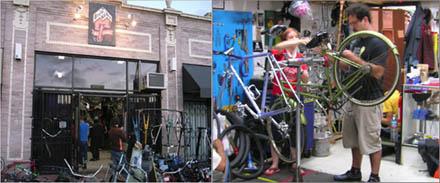 Warsztat rowerowy Bicycle Kitchen