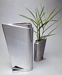 Wazon z aluminium