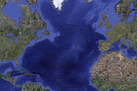 Atlantyk ma swoje plamy śmieci